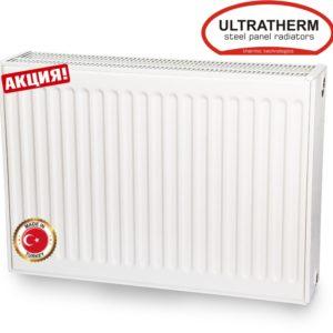 Стальной радиатор Ultratherm Тип 11 панельные (Турция) бок.подкл. 500х1000