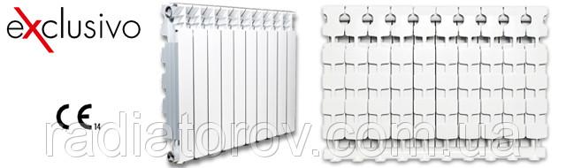 Алюминиевый радиатор Exclusivo 500/100 Fondital ( Италия )