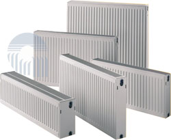 Стальной радиатор Delta Тип 33 панельные (Турция) нижн.подкл. 300х900