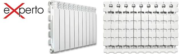Алюминиевый радиатор EXPERTO 500/100 А3 Fondital ( Италия )