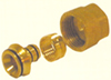 Гайка, кольцо и укороченный наконечник 20х16 Резьбовой фитинг Valsir (Италия)