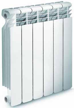 Алюминиевый радиатор Solar Super 500/100 S-5 Fondital (Италия)